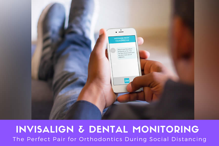 Invisalign & DM – The Perfect Pair for Orthodontics During Social Distancing